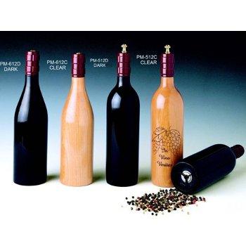 Cellarmaster's Wood Bottle Peppermill