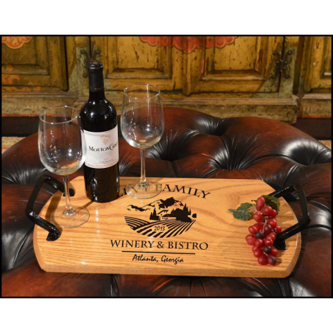 Customized Chateau Bistro Tray