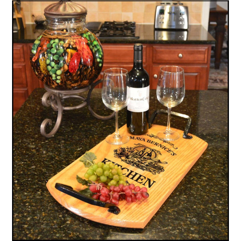 Customized Cozy Kitchen Bistro Tray