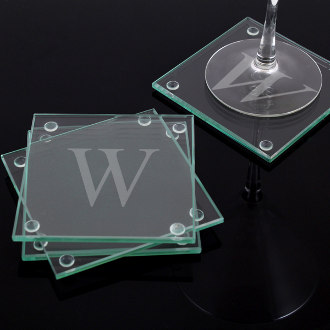 Personalized Glass Coasters