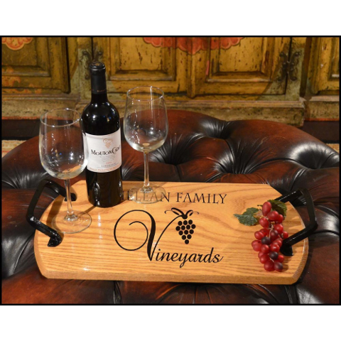 Customized Vineyards Bistro Tray