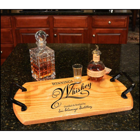 Customized Whiskey Bistro Tray