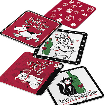 Pet Party Coasters
