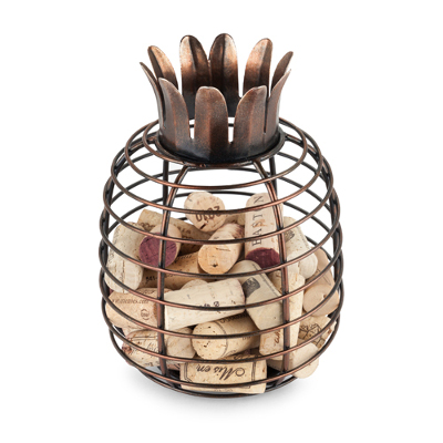 Juicy Pineapple Cork Holder by True