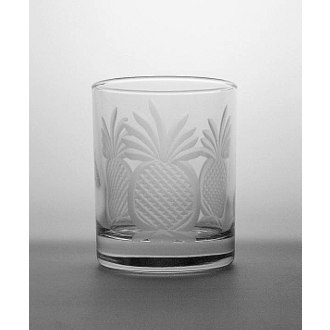 Pineapple On The Rocks Glasses (set of 4)