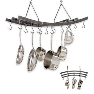 Reversible Arch Pot Rack