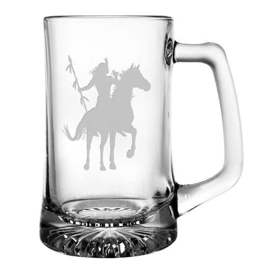 Proud Warrior Beer Mugs (set of 4)