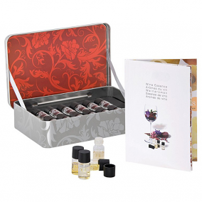 Pulltex Red Wine Essences Collection - 12 Piece Set