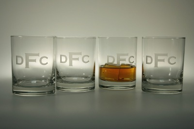 Personalized Whiskey Glasses (set of 4)