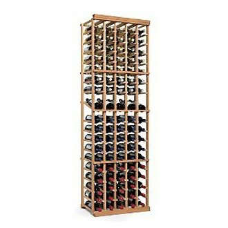 N'finity Wine Rack Kit 5 Column with Display Natural