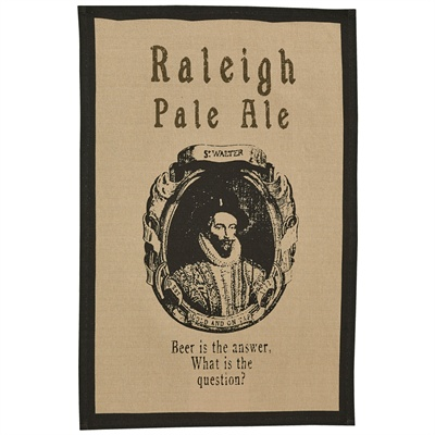 Raleigh Pale Ale Printed Dishtowel