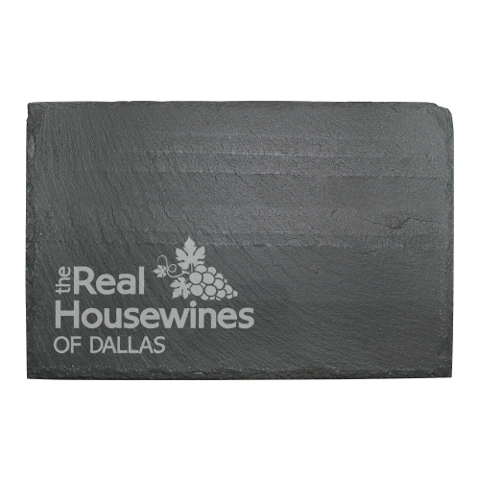 Real Housewines Personalized Slate Cheese Server