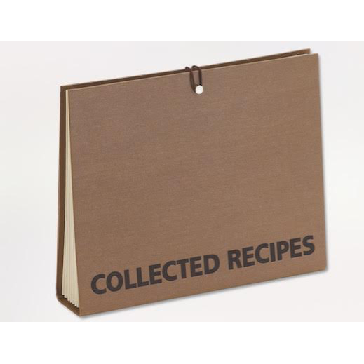 Large Recipe Clippings Accordion File