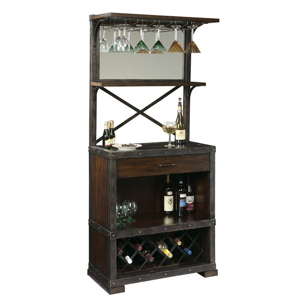 Howard Miller Red Mountain Wine Cabinet