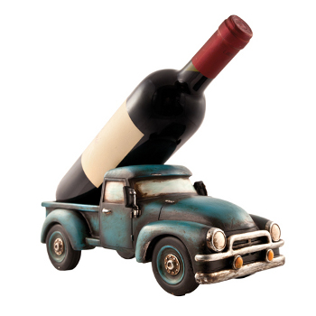 Retro Truck Wine Bottle Holder