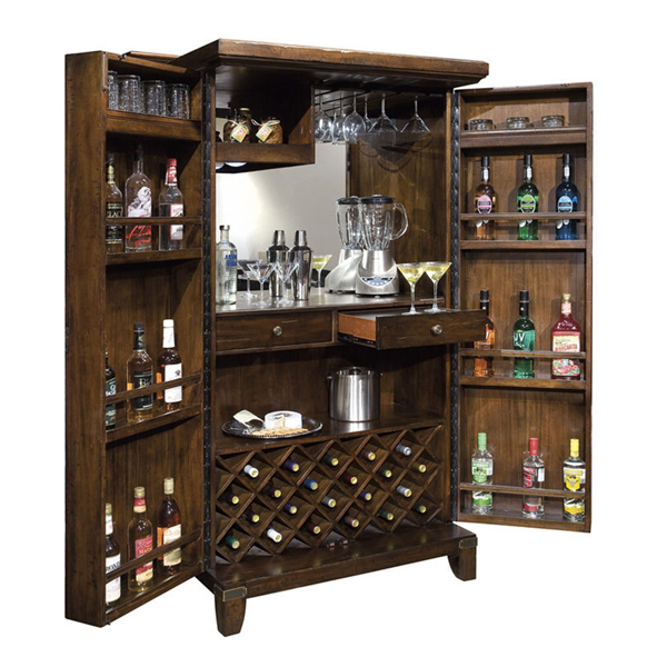 Howard Miller Rogue Valley Wine & Bar Cabinet