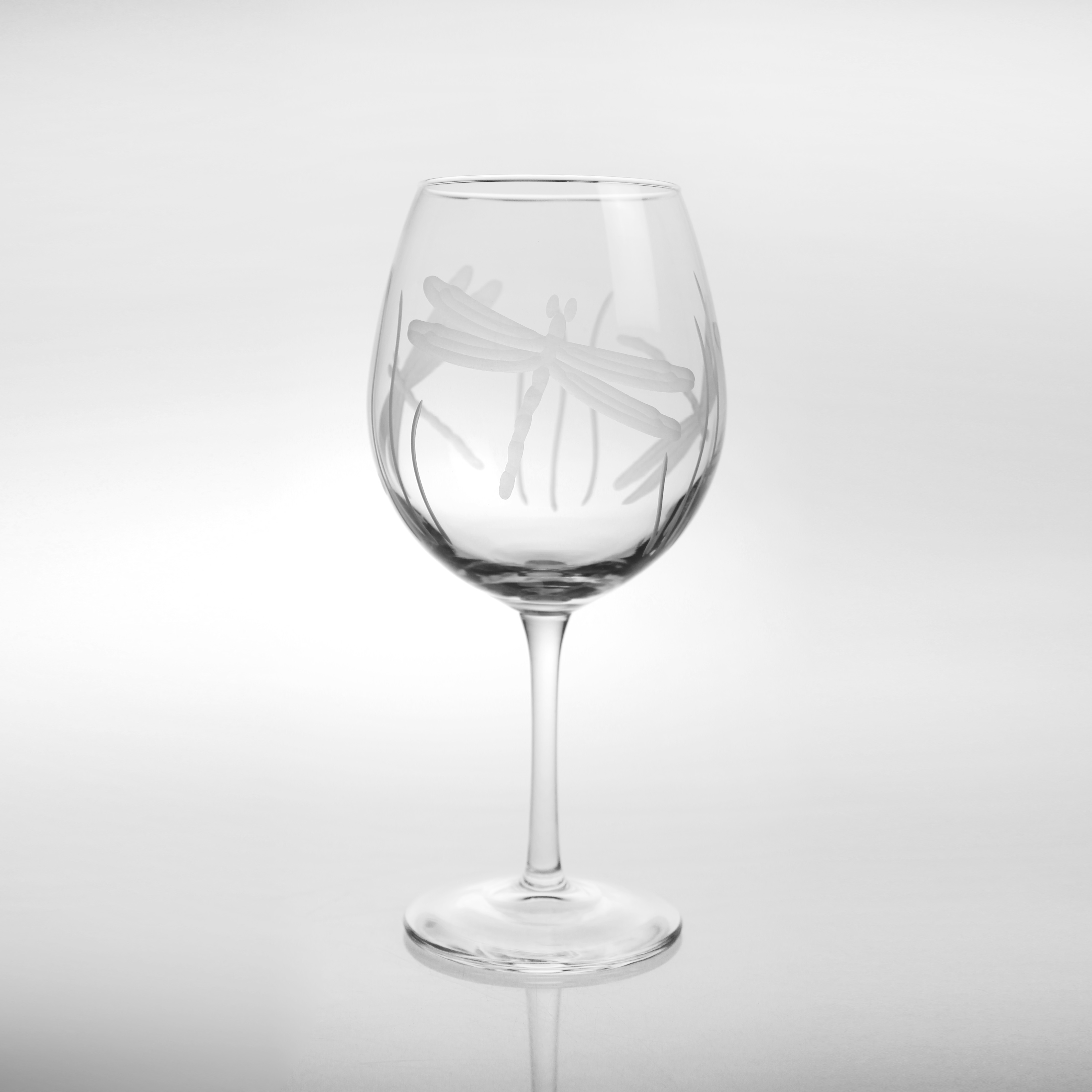 Dragonfly Balloon Wine Glasses (set of 4)