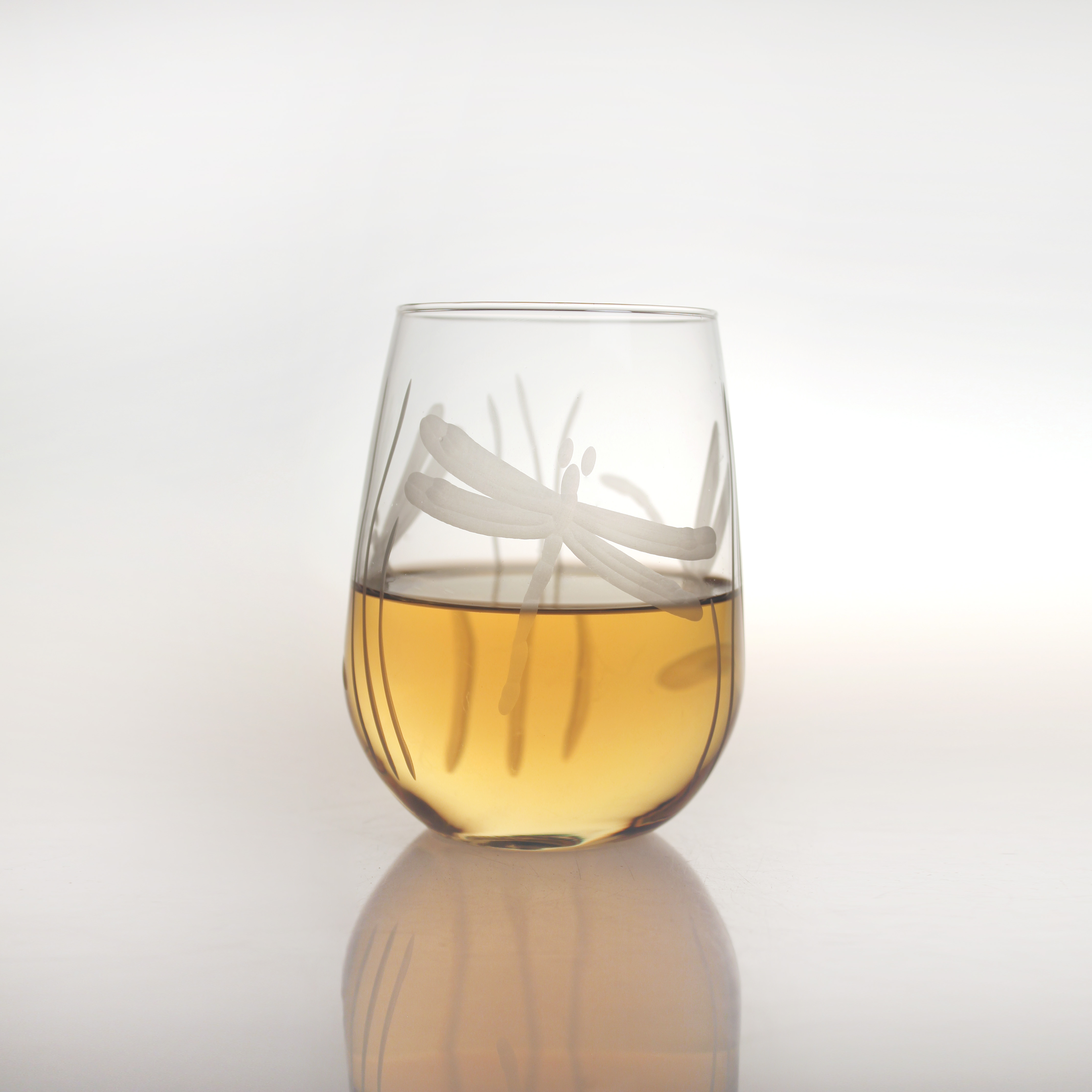 Dragonfly White Wine Tumblers (set of 4)