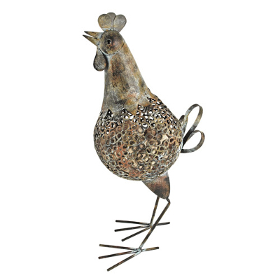Rooster Metal Cork Holder