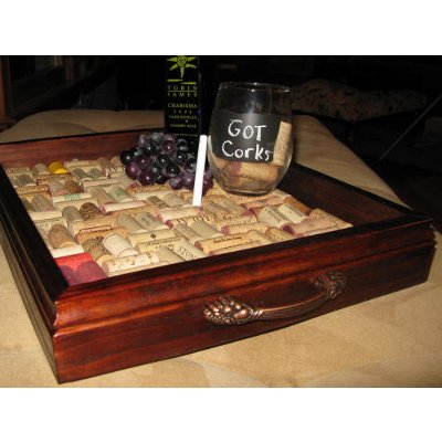 Royal Wine Cork Serving Tray