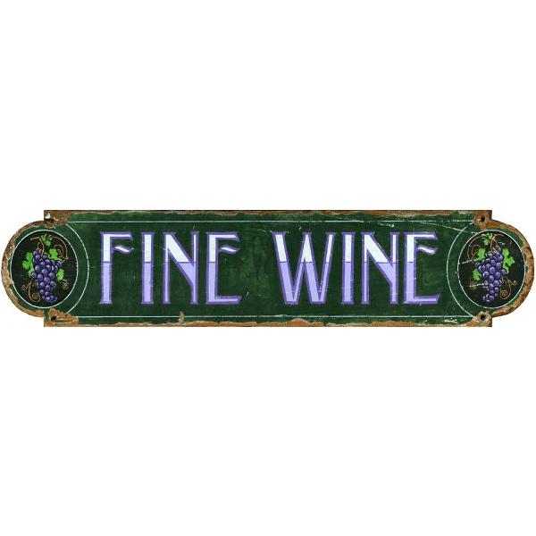 Fine Wine Sign