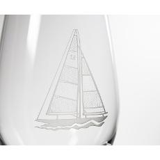 Sailboat Glassware
