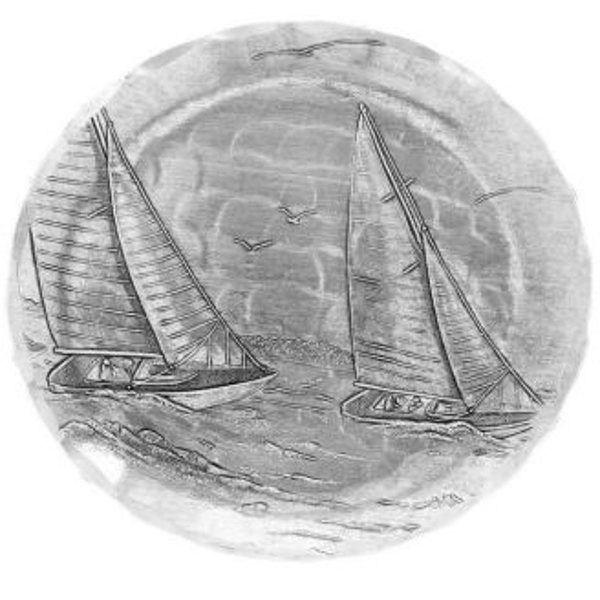 Sailboat Coaster Set