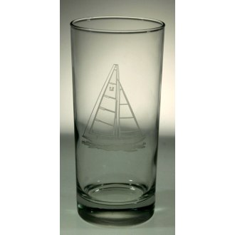 Sailboat Cooler Glasses (set of 4)