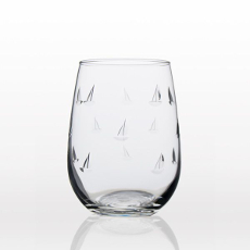 Sailing Stemless Wine Glasses (set of 4)