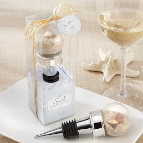Beach Shells Wine Bottle Stopper