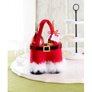 Santa Double Bottle Bag