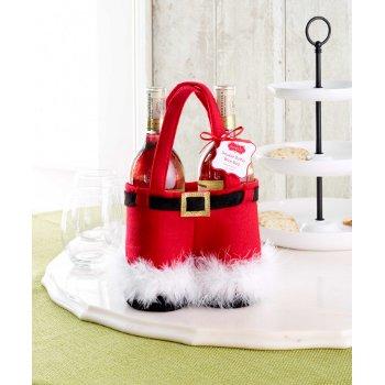 Santa Double Bottle Bag