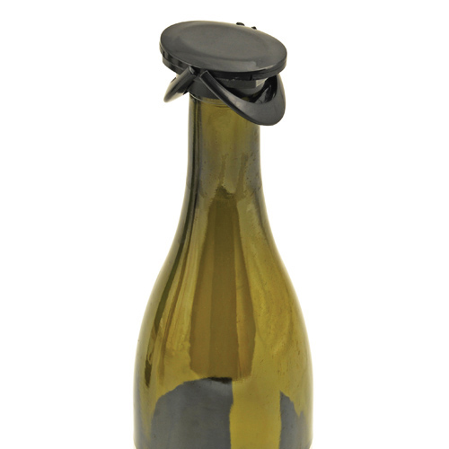 Champagne Bottle Stopper with Push Down Levers