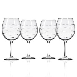 School of Fish Balloon Wine Glasses (set of 4)