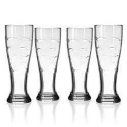 School of Fish Pilsner Glasses (set of 4)
