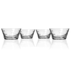 School of Fish Clear Small Bowls (set of 4)
