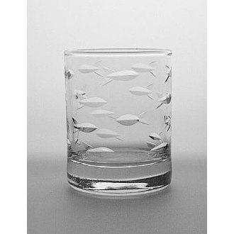 School of Fish Votive Glasses (set of 4)