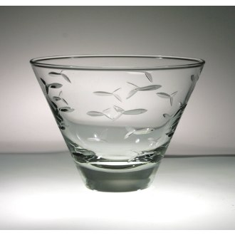 School of Fish Martini Tumblers (set of 4)