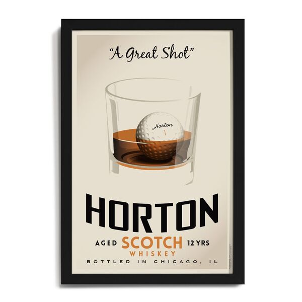 """Great Shot"" Personalized Art"