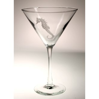 Seahorse Martini Glasses (set of 4)