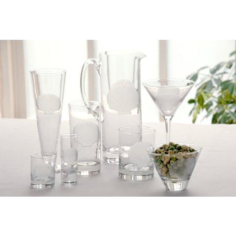 Seashell Glassware