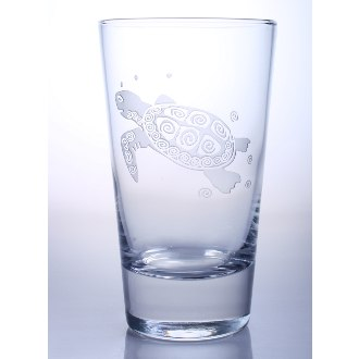 Sea Turtle Cooler Glasses