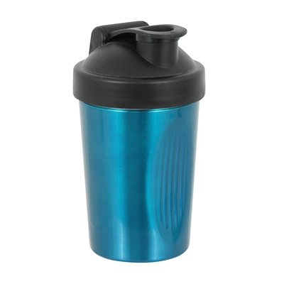 Shake Rattle and Pour Cocktail Shaker, Blue