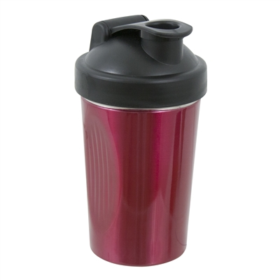 Shake Rattle and Pour Cocktail Shaker, Red