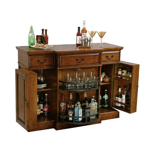 Howard Miller Shiraz Hide-a-Bar Home Bar Cabinet