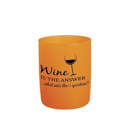 Siliwine Wine Is The Answer Silicone Wine Tumblers (set of 2)