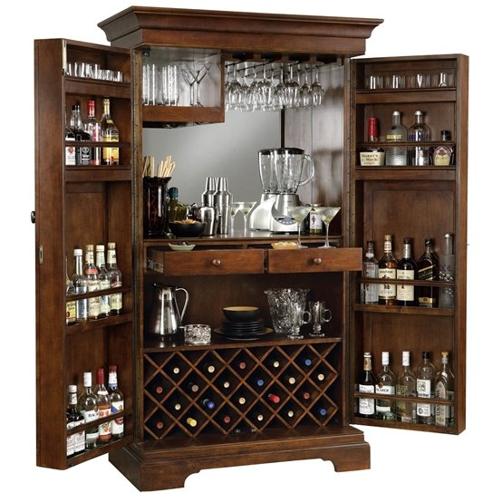 Howard Miller Sonoma Home Bar Furniture Cabinet
