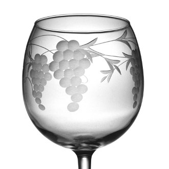 Sonoma Balloon Red Wine Glass Set