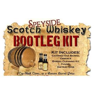 Speyside Scotch Whiskey Making Bootleg Kit