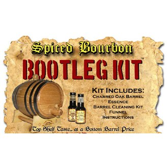Spiced Bourbon Whiskey White Oak Barrel Making Kit